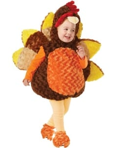 Kids Roasted Turkey Costume