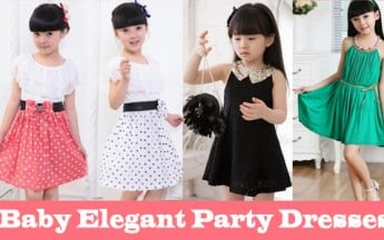 Elegant Party Dresses for Baby Girl