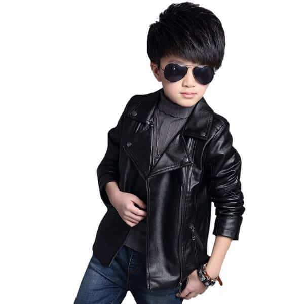 Kids Leather Motorcycle Vests Does your kid want to match Mom or Dad with the coolest biker gear around? Leather Bound Online has boys leather motorcycle vest & denim biker vests in a .