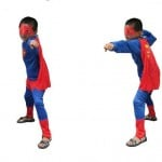 Superman Fancy Dress Costume for Boys