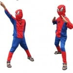 Spiderman Superhero Fancy Dress Costume