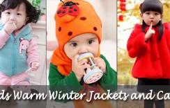 10 Cool Warm Winter Jackets and Caps for Kids