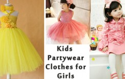 10 Cute Kids Partywear Clothes for Girls this Season