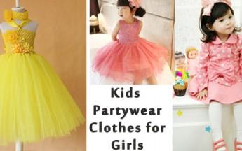 children girls partywear
