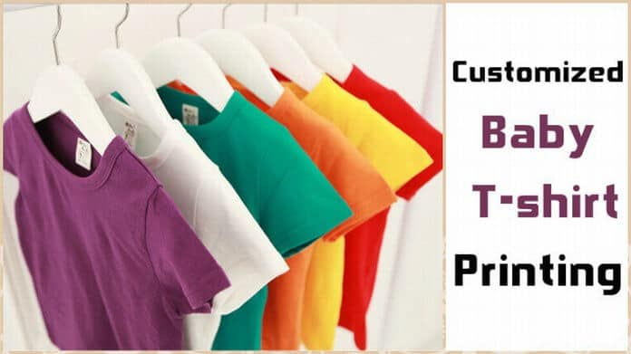 Cute customized baby t shirt and tees printing in india for T shirt printing for babies