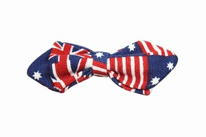 American Flag Bow Tie for Kids