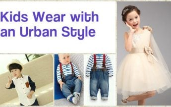 Kids Wear with an Urban Style