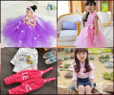 Kids Clothes For baby Girl