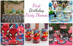 Unique First Birthday Party Themes