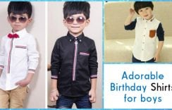 5 Adorable Birthday Shirts for boys from PinkBlueIndia | Kids Shirts India