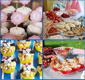 1st Birthday Party Food Menu<