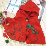 Baby Winter Cloak with Gloves and Earmuffs