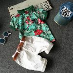 T-shirt and shorts outfit for Kids
