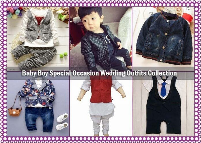 Baby Boy Special Occasion Wedding Outfits And Party