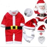 Santa Claus Costume Set for baby Boys