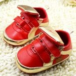 Smart Red Christmas Shoes for Baby Boys