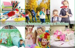 10 Amazing Ideas to Keep Kids Entertained and Busy at Weddings