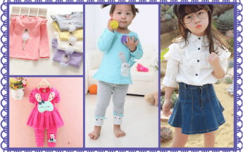 Designer Tops and Tees for Baby Girl in Fashionable Patterns