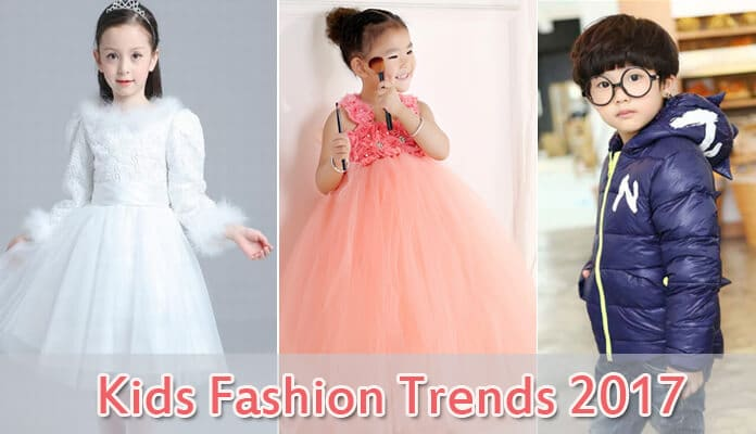 Fashion Trends 2017 In Kids Clothing For A Flawless Look At Party