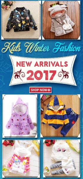 kids winter wear clothes 2017