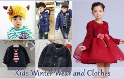 Cuddle Up Boys and Girls in Warm Kids Winter Wear and Fashionable Clothes