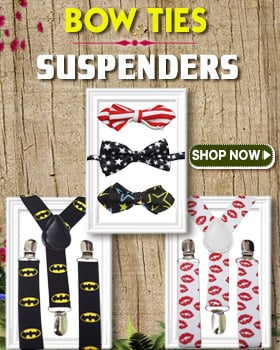 baby boys bow ties suspenders