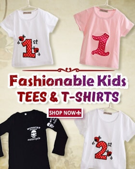 kids tees and t-shirts
