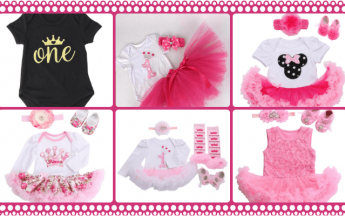 Trendy One Piece Romper Dresses That Make 1st Birthdays More Special