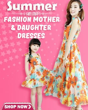 Summer Mother Daughter Matching Outfits and Dresses