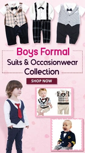 kids baby boys partywear formal suit 2017