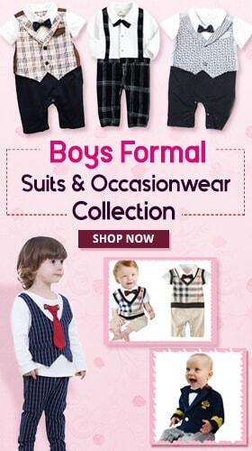 kids baby boys partywear formal suit 2017