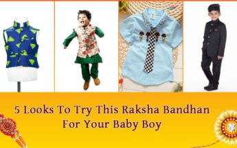 Best 5 Looks To Try This Raksha Bandhan For Your Baby Boy