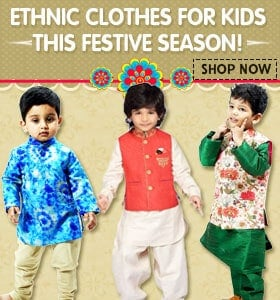 kids ethnic festival clothing