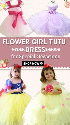 baby girl party wear fluffy tutu dress
