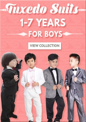 Kids Wedding Tuxedos and Boys Suits