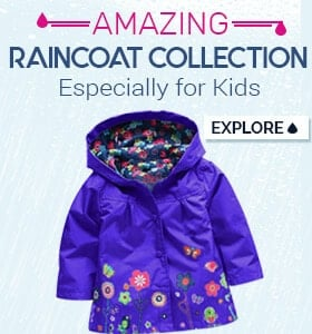 Girls Raincoat Kids Coats and Jackets India