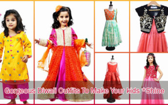 10 Gorgeous Diwali Outfits To Make Your kids *Shine