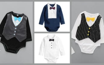 Cute Baby Boy Rompers and Trendy Onesies