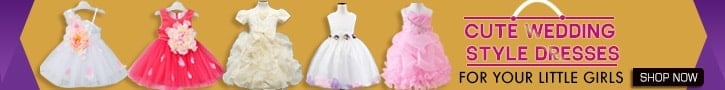 Little Girl Wedding Dresses India, Flower Girl Dress