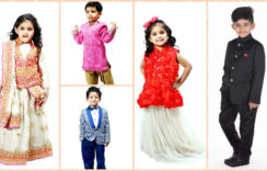 Cosy and Cute Flower Girl Dresses for a Winter Wedding