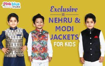 Sleeveless Nehru/Modi Style Jacket with Kurta | Nehru Jackets Kids