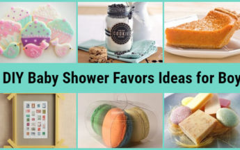 DIY Inexpensive Baby Shower Favors Ideas for Boy