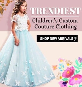 trendiest children custom couture clothing