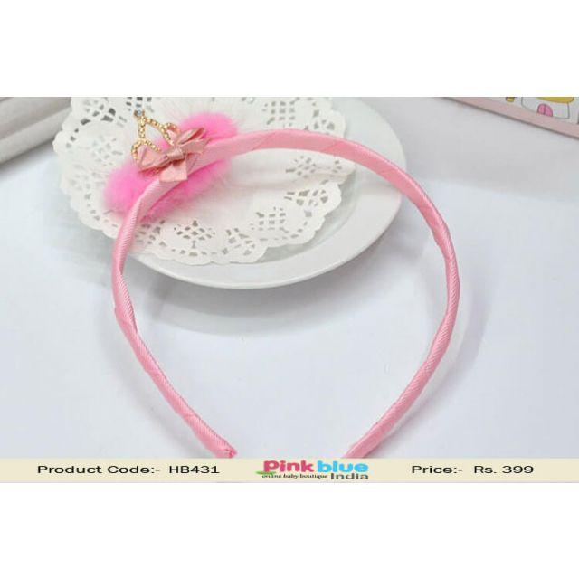 Pink Tiara Style Princess Hair Band