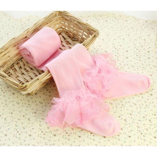 pink baby stockings