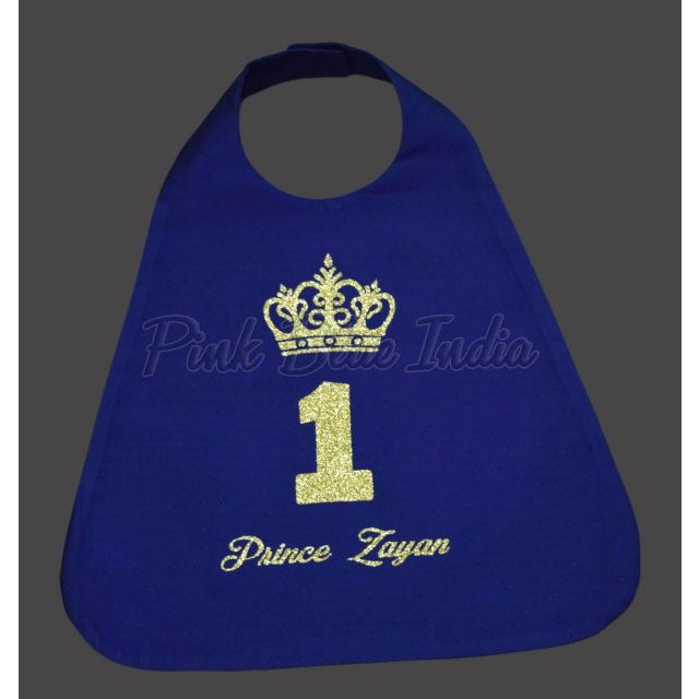 Baby Boy Toddler Birthday Prince Cape, Little Prince Outfit