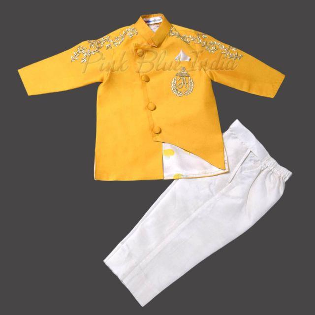 Boys Wedding Wear Jacket, Luxury Kids Ethnic Wear