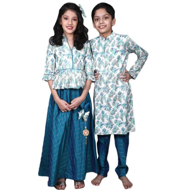 Brother Sister Matching Outfits, Matching Sibling Wear, wedding dresses
