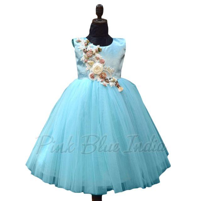 Disney Elsa Blue Dress Girls Elsa Outfit, Frozen Gown Online