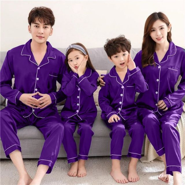 Indian Family Matching Nightwear, Adult Kids Pyjamas Online, Night Suits